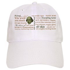 Shakespeare Insults T-shirts & Gifts Cap