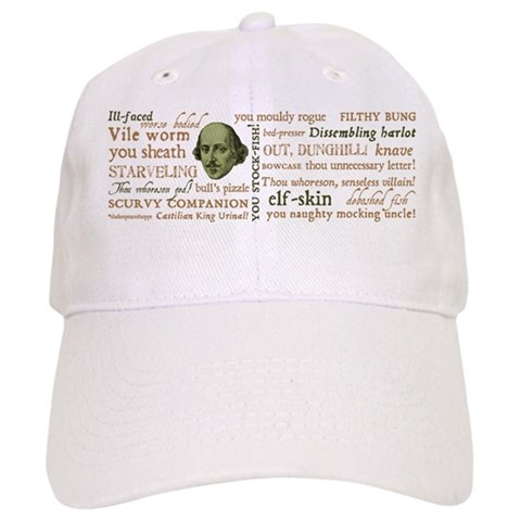 Shakespeare Insults Cap