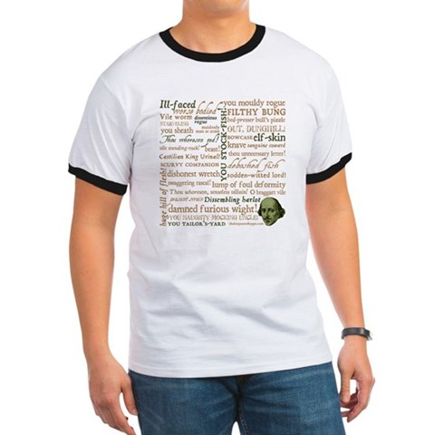 Shakespeare Insults Ringer T