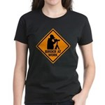 Birder at Work Women's Dark T-Shirt