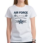 Son-in-law defending freedom Women's T-Shirt