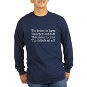 Twitched & Lost... Long Sleeve Dark T-Shirt