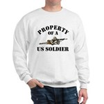 Property US Army Soldier Military Sweatshirt