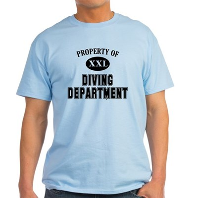 Property of Diving Dept T-Shirt