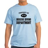 Rescue Diving Department Light T-Shirt