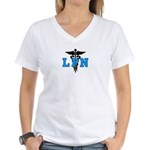 LPN Symbol Women's V-Neck T-Shirt