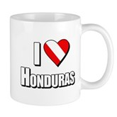  Scuba: I Love Honduras Mug