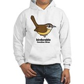 Birdorable Carolina Wren Hooded Sweatshirt