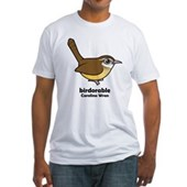 Birdorable Carolina Wren Fitted T-Shirt