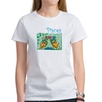 Up Stream Pisces Women's T-Shirt