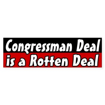 Nathan Deal is a rotten deal bumper sticker