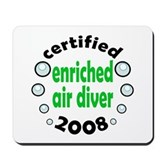 Enriched Air Diver 2008 Mousepad