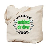 Enriched Air Diver 2008 Tote Bag