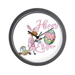 Easter Egg Goat Wall Clock