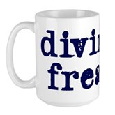 Diving Freak Large Mug