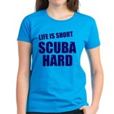 Scuba Hard Women's Dark T-Shirt