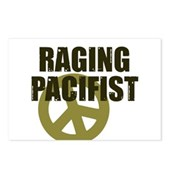 Raging Pacifist Postcards (Package of 8)