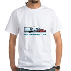 The campers life White T-Shirt