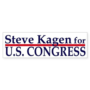 Steve Kagen for U.S. Congress bumper sticker