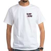 Real Enough Man Enough 1 (Mother) White T-Shirt