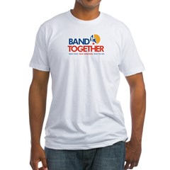 Band Together logo Fitted T-Shirt