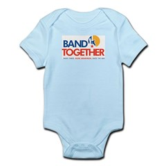 Band Together logo Infant Bodysuit