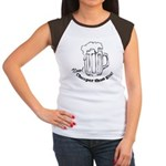 Beer: Now! Cheaper than Gas! Women's Cap Sleeve T-