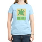 Bar Code Turtle Women's Light T-Shirt