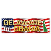 Delaware for Obama Bumper Sticker