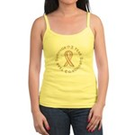 3 Year Breast Cancer Survivor Jr. Spaghetti Tank