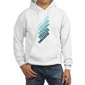 Stacked Obama Blue Hooded Sweatshirt