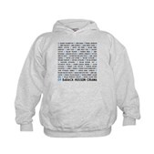 All Presidents up to Obama Kids Hoodie