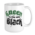 Green is the new Black Large Mug
