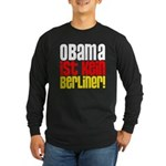 Obama Ist Kein Berliner! Long Sleeve Dark T-Shirt