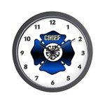 Fire Chiefs Wall Clock