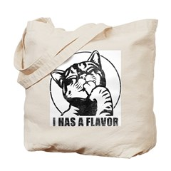 I Has A Flavor LOLcat Tote Bag