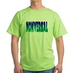 nonverbal Green T-Shirt