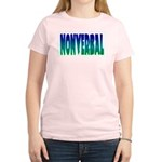 nonverbal Women's Pink T-Shirt
