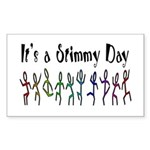 It's a Stimmy Day! Sticker (Rectangle)