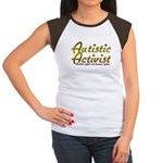 Autistic Activist v2 Women's Cap Sleeve T-Shirt