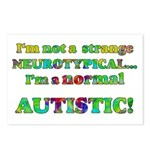 Normal Autistic Postcards (Package of 8)