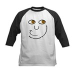 Eye Contact Kids Baseball Jersey