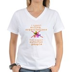 I Support... Women's V-Neck T-Shirt