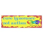 Cure Ignorance Sticker (Bumper 10 pk)