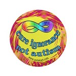 "Cure Ignorance 3.5"" Button (100 pack)"