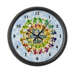 Stimmy Day Large Wall Clock