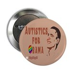 "Autistics for Obama 2.25"" Button"