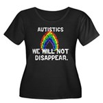We Will Not Disappear Women's Plus Size Scoop Neck