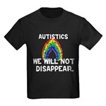 We Will Not Disappear Kids Dark T-Shirt