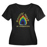Autistic Pride Women's Plus Size Scoop Neck Dark T